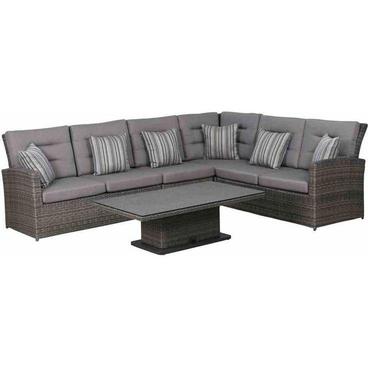 Die besten 25+ Gartenmöbel lounge set Ideen auf Pinterest - loungemobel garten grau