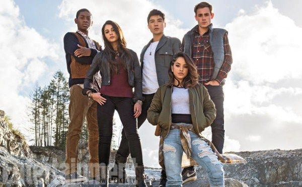 First Look At Cast Of Power Rangers Movie!