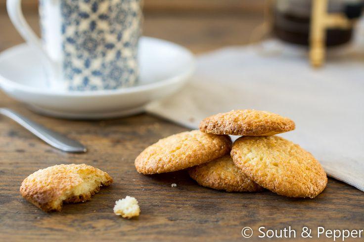 Recept voor Italiaanse citroenkoekjes  #southandpepper #citroen #koekjes #gebak #italiaans #koken #keuken #recept #makkelijk #kids #dezilverenlepel