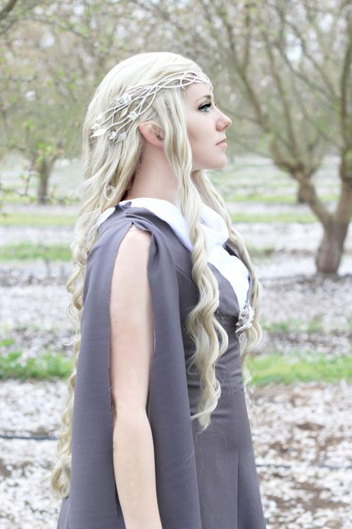 """Adel Cosplay as Galadriel from """"The Hobbit."""" Photo by Milano Photography."""
