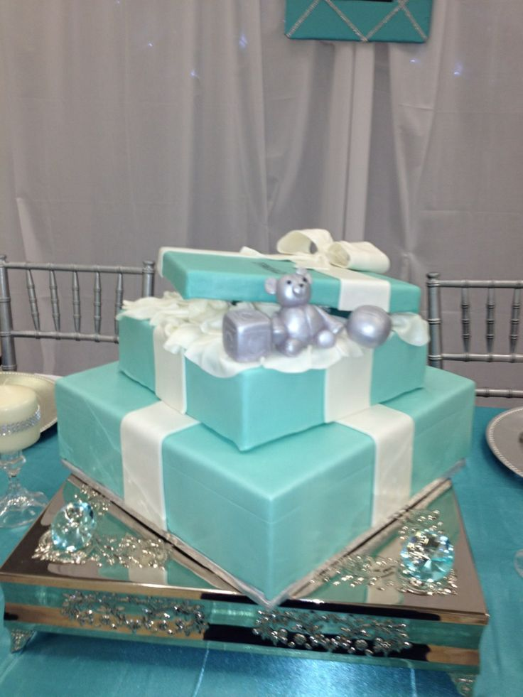 Tiffany And Co BABY Shower Theme Ideas | Tiffany Themed Baby Shower