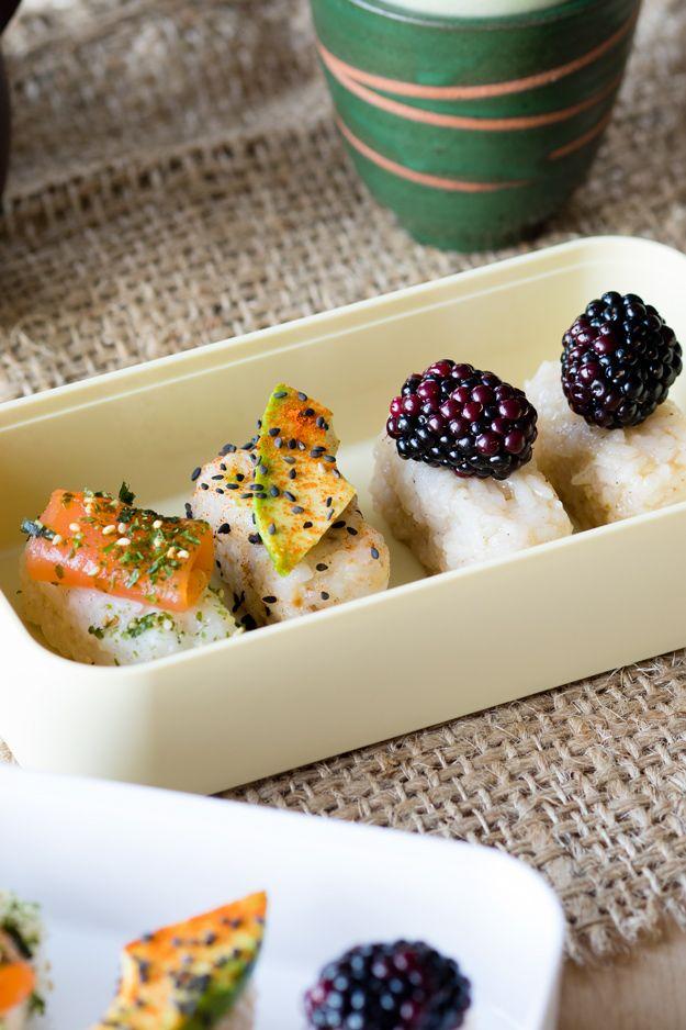 Breakfast Bento Sushi Recipes | The Worktop