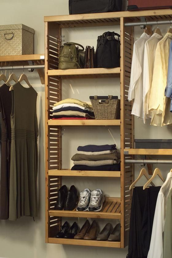 Closet System Adjustable Shelf Kit