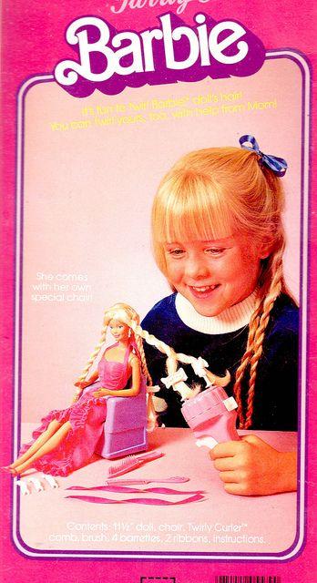 Twirly Curls Barbie- She was my 1st barbie :)
