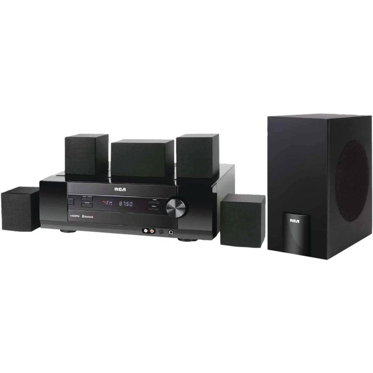 RCA RT2781H 5.1 Home Theater System 1000 W RMS