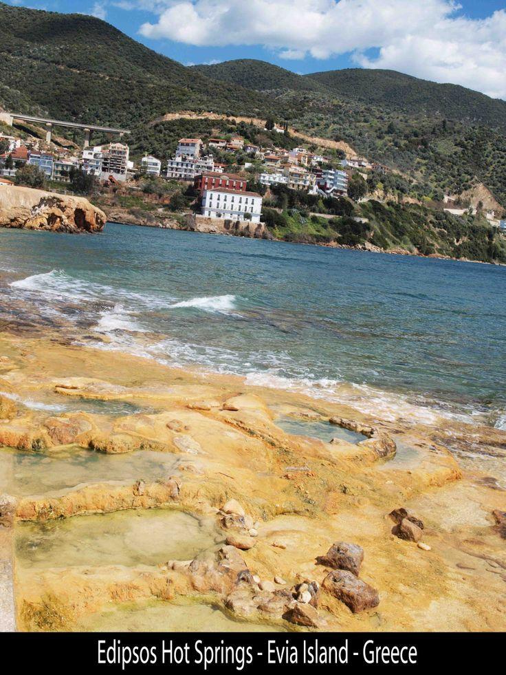Edipsos Hot Springs, Evia, Greece-Euboea, Greece