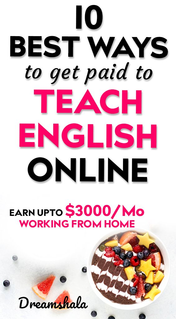 16 Best Platforms To Get Paid To Teach English Online Teaching English Online English Online Teaching English