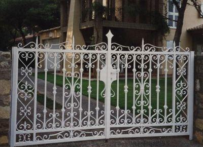 puertas de jardn en valencia cerrajeria olmos cb