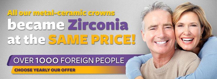 Zirconia Crowns at a super price #dentist #dental treatment