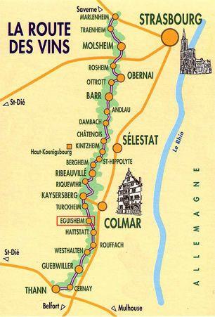 Route des Vins- Alsace