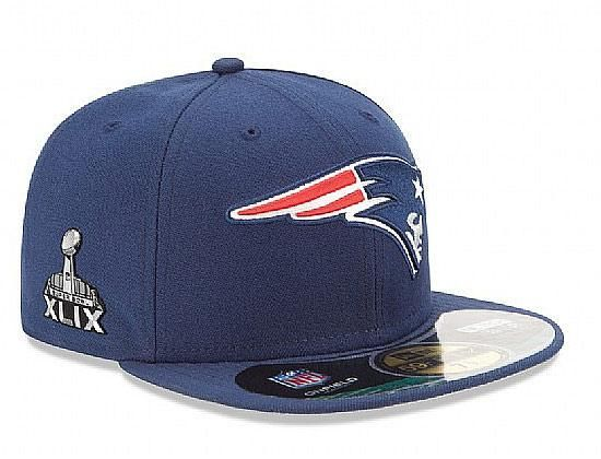 NFL Super Bowl Champion New England Patriots Game 59Fifty Fitted Cap