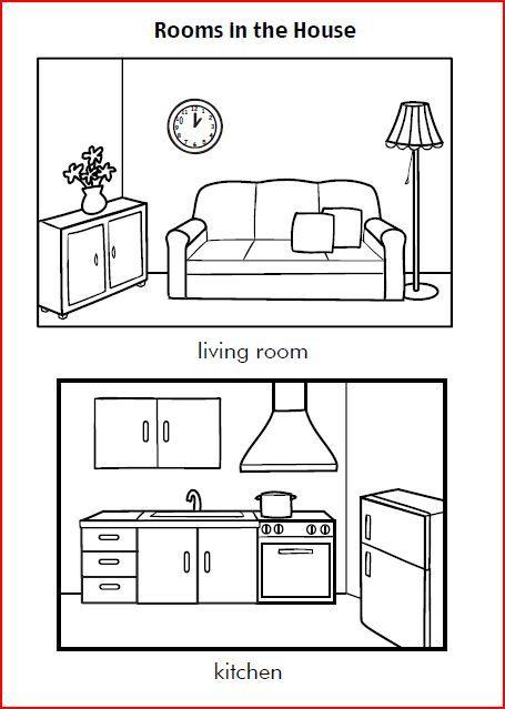 Ficha de la casa en ingles jpg 455 639 ravin for Living room y sus partes