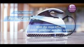 Find out how to easily remove limescale from your Philips steam iron or steam generator iron to prevent leaking and brown water.