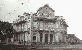Antiga faculdade de Medicina do Pará -1924. Belém