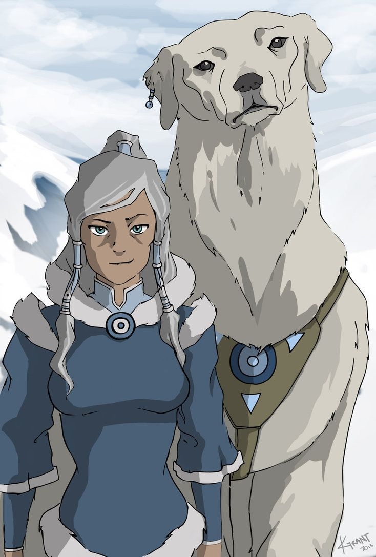 Legend Of Korra  Avatar Korra  Naga  Growing Old Together-9922