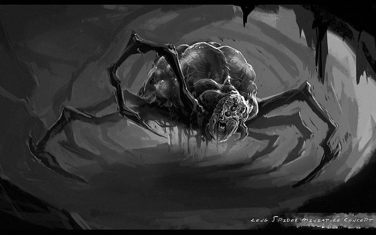 Leng Spider | Lovecraftian Miniatures | Pinterest | Spider