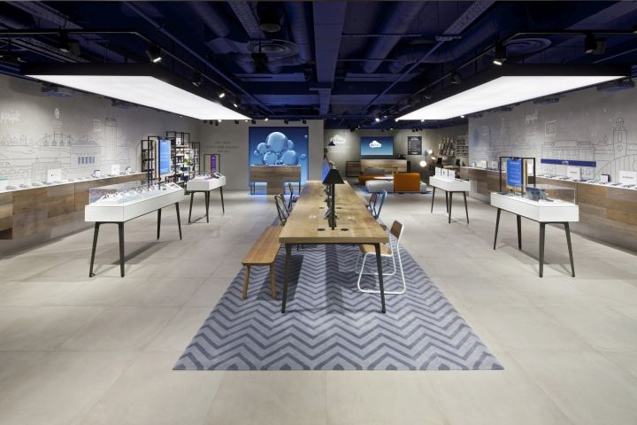 O2 concept store by Dalziel & Pow, Manchester – UK » Retail Design Blog