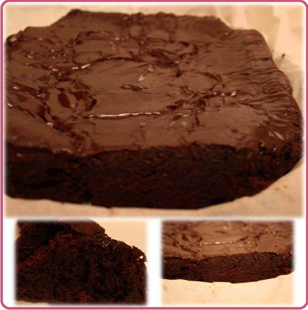 Flourless Chocolate Cake With Chickpeas