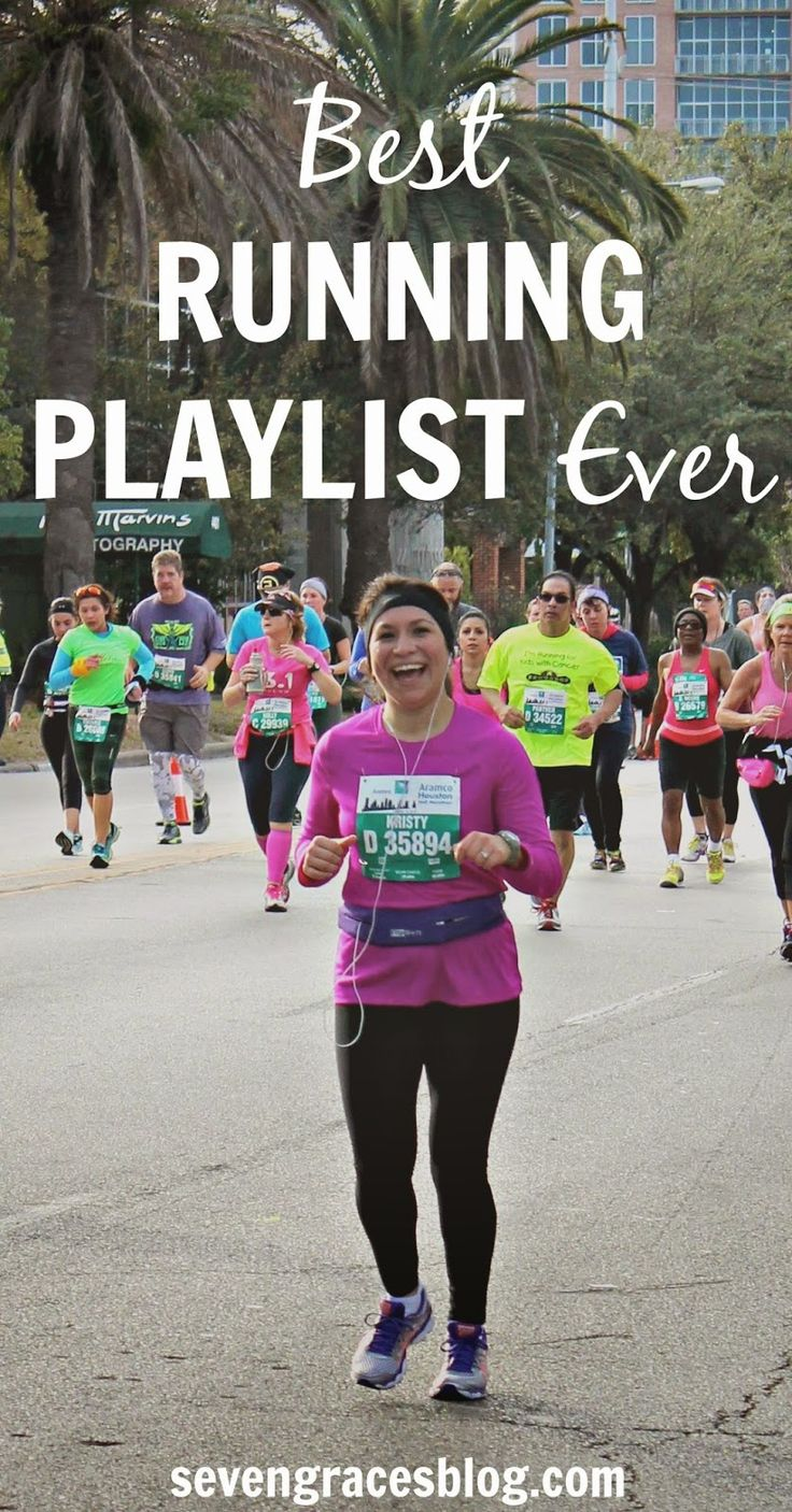 Seven Graces: My Half Marathon Experience & The Best Running Playlist. You won't need another playlist because this one is the best!