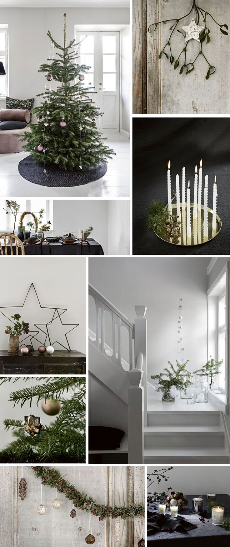 Ideas for a holiday decor you'll love, whether rustic or refined, glitzy or understated.