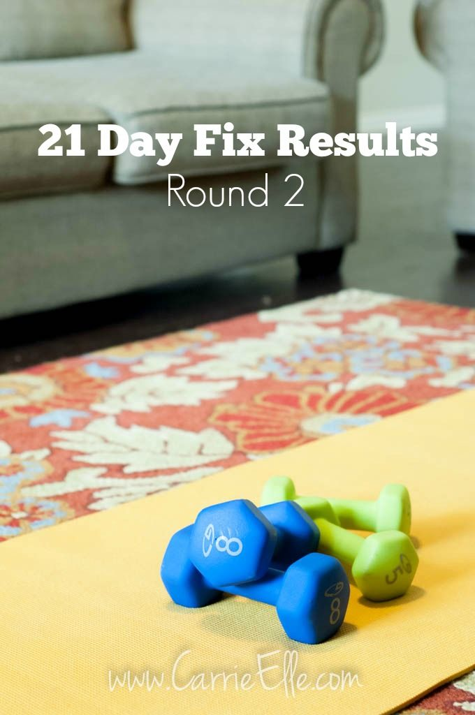 21 Day Fix Results Round 2