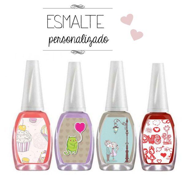 Faça você mesmo: Rótulos de esmalte para lembrancinha de chá de cozinha | http://www.blogdocasamento.com.br