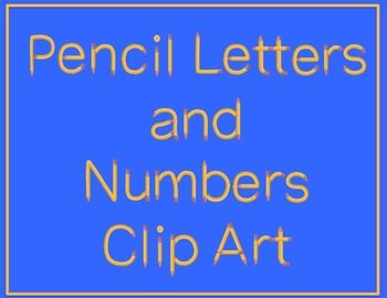 This is a set of 67 .png letter, number and pencil graphics with a high resolution of 300dpi. Please note that this is NOT a FONT.   The graphics set includes images of: 1. Uppercase A-Z 2. Lowercase a-z 3. Numbers 0-9 4. Math Symbols: addition, subtraction, multiplication, division and equals signs