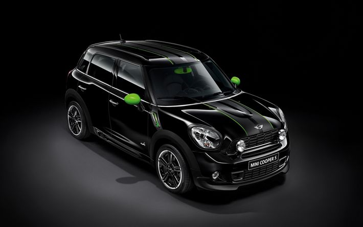 Download wallpapers MINI Cooper S Countryman, tuning, 2018 cars, crossovers, tunned Countryman, MINI