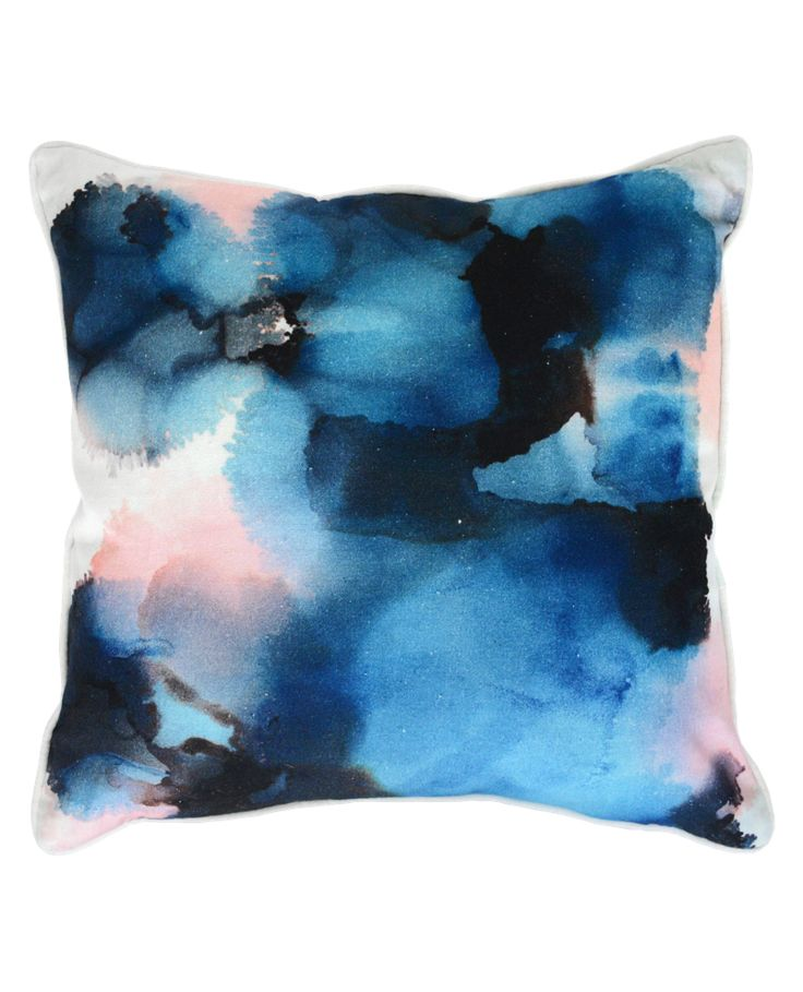 Blueprint Cushion | Urban Road | front  Available in Ampersand Geelong