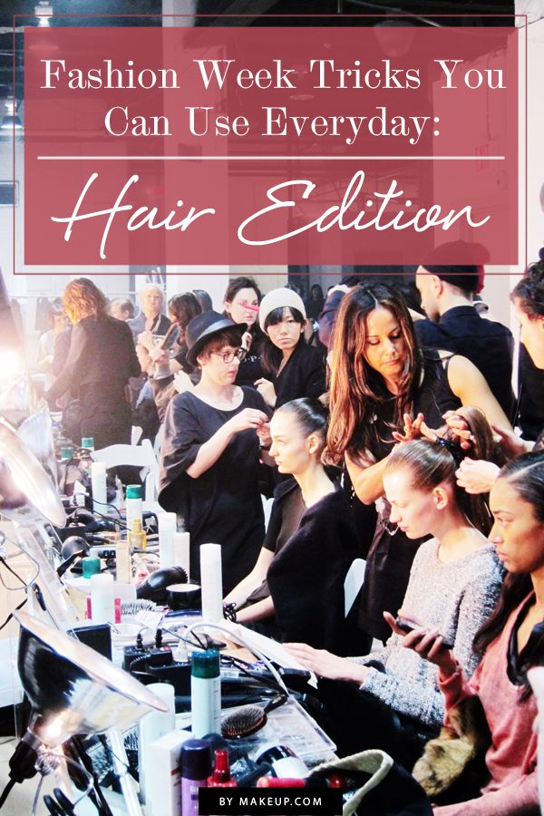 Take it from the pros. Here are 5 fashion week hair tricks to speed up your hair routine!