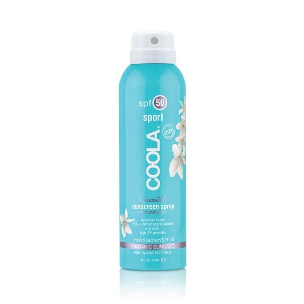 Classic Sport Continuous Spray SPF50 Unscented - PureSkin.no
