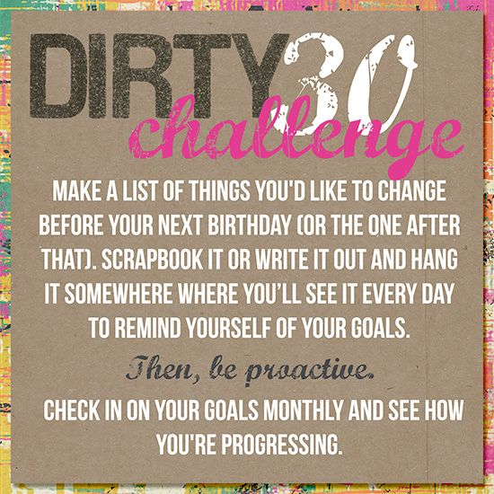 Journal Prompt: 30 things you want to change in your life before your next birthday