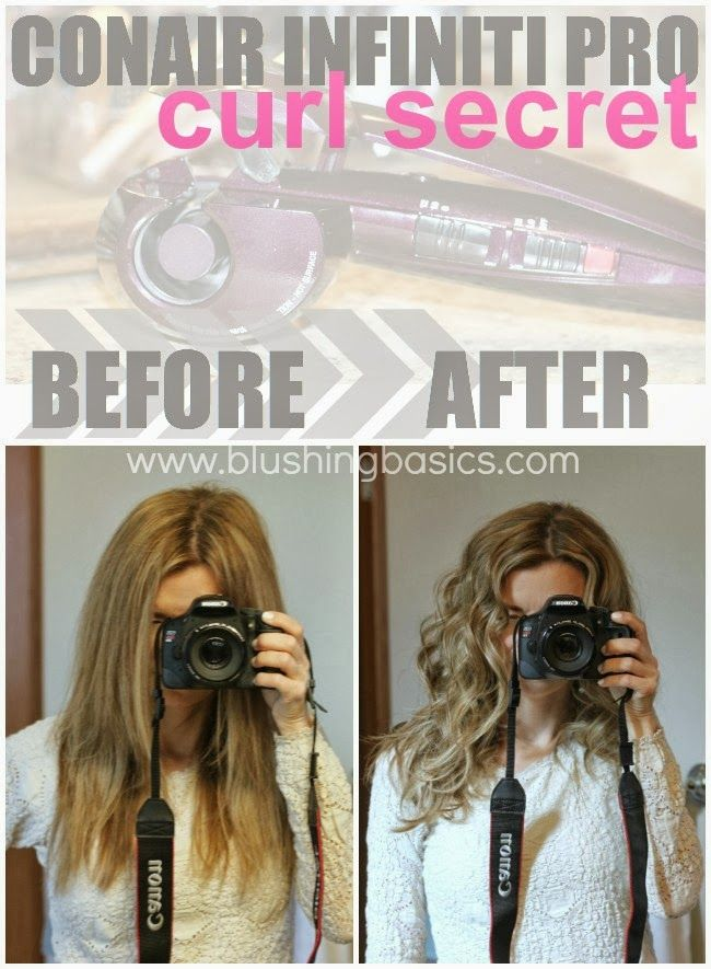 Conair Infiniti Pro Curl Secret - blushing basics