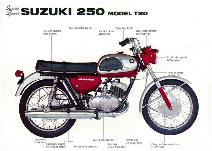 205 best Suzuki T20 images on Pinterest