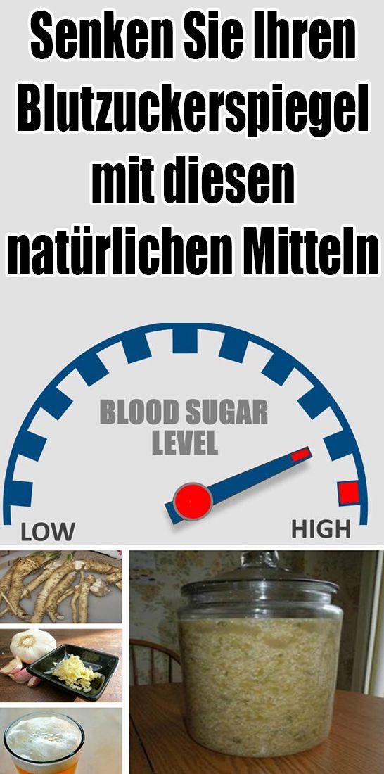Senken Sie Ihren Blutzuckerspiegel mit diesen natürlichen Mitteln