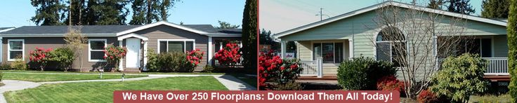 Model Homes | House Floor Plans | Catalog of Manufactured Home Floor Plans | DeTray's Custom Housing, Puyallup, WA