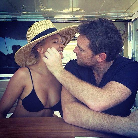 Love Lara's hat - Lara Bingle and Sam Worthington Relationship Timeline