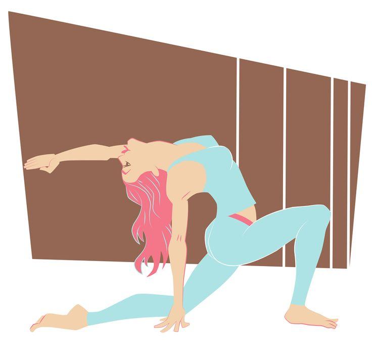 Yoga Project. Ashwa Sanchalanasana, Low Lunge Pose.