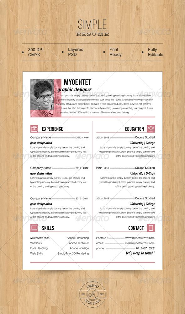 ... The 7 Best Images About Cv On Pinterest Job Cover Letter   One Day  Resume ...  One Day Resume