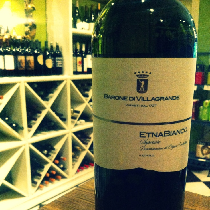 Barone Di Villagrande Etna Bianco Superiore 2010 | Made with the Carricante grape, this wine is lively with minerality and acidity.