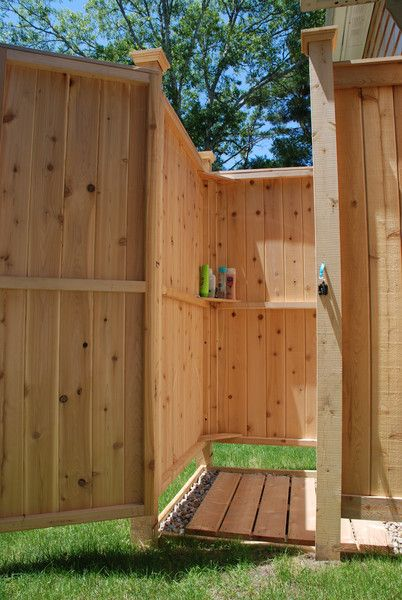 Outdoor Shower Cedar House Mount Outdoor Showers Cape