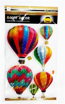 5D Balon Duvar Sticker