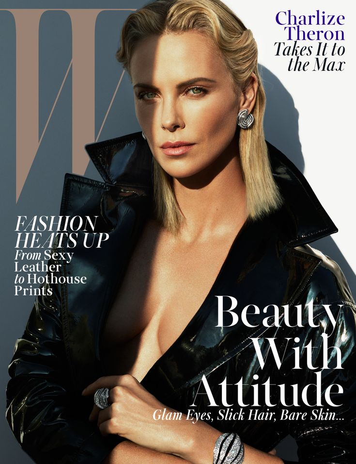Charlize Theron Takes It To the Max - Charlize Theron-Wmag