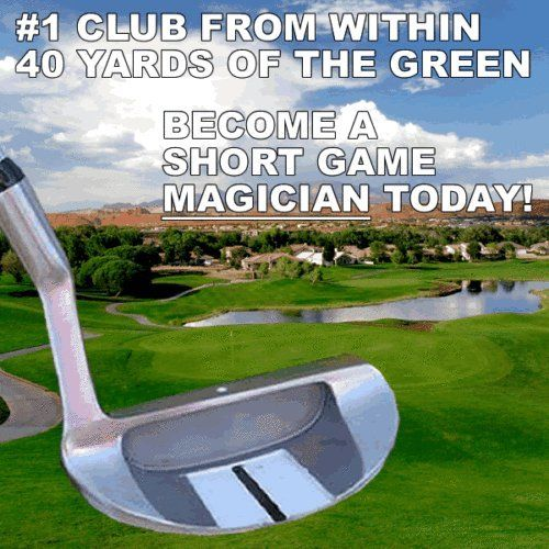 #1 Lower Scores Custom Golf Chipper Hybrid Chipping Putter Putting Wedge Golf Club