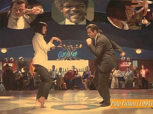 You never can tell. Pulp fiction