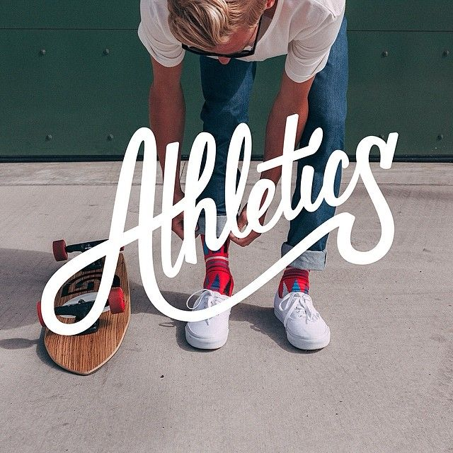 Typostrate Weekend Inspiration 61 Athletics with... • typostrate