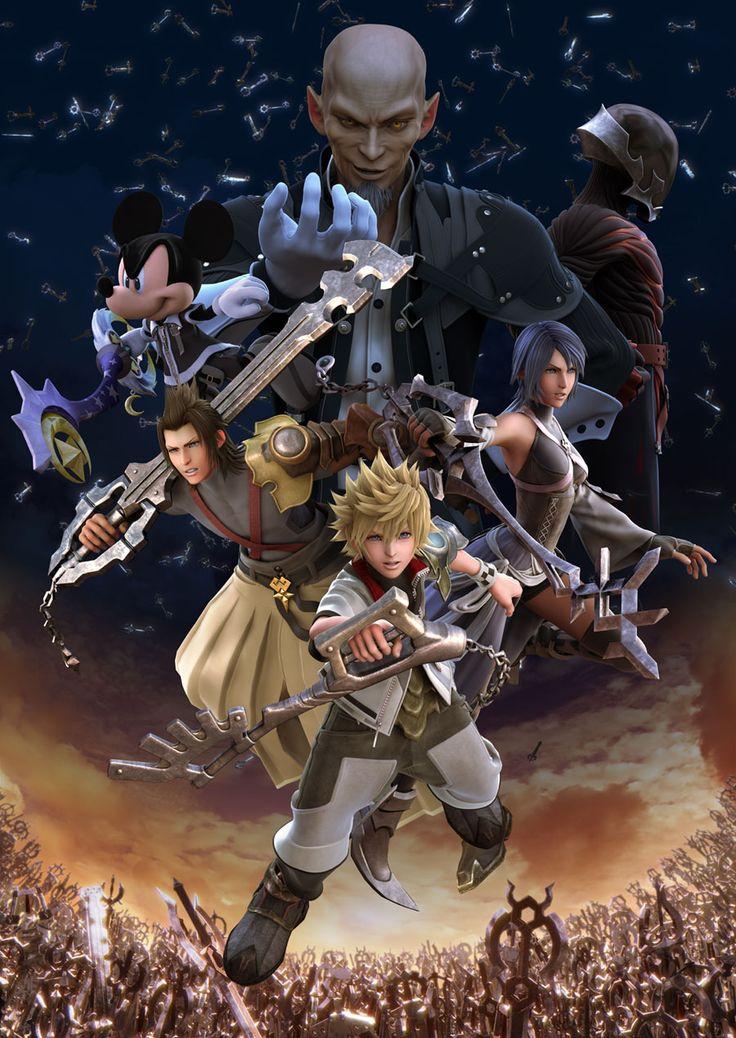 Kingdom Hearts BBS KeyBlade War