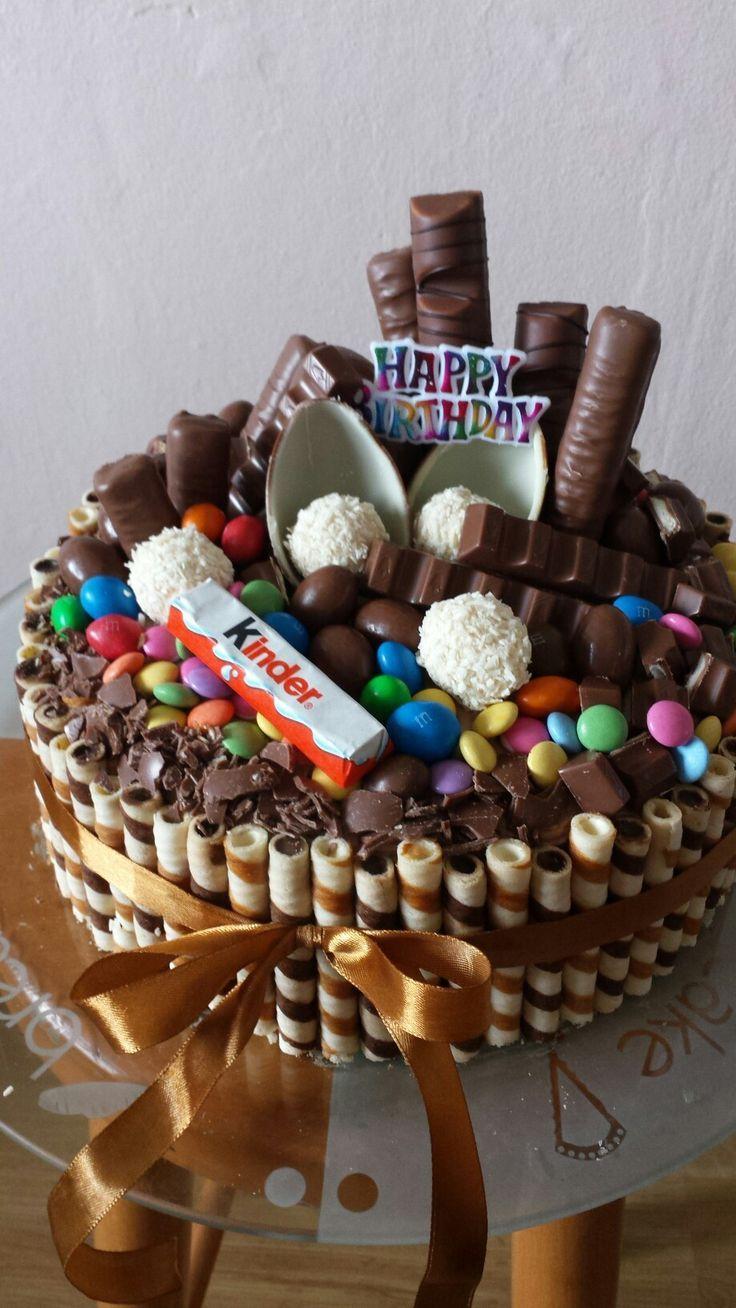 Mein hausgemachter Schokoladenkuchen zum siebzehnjährigen Geburtstag meiner kleinen Schwester …   – Birthday Cake Easy Ideen