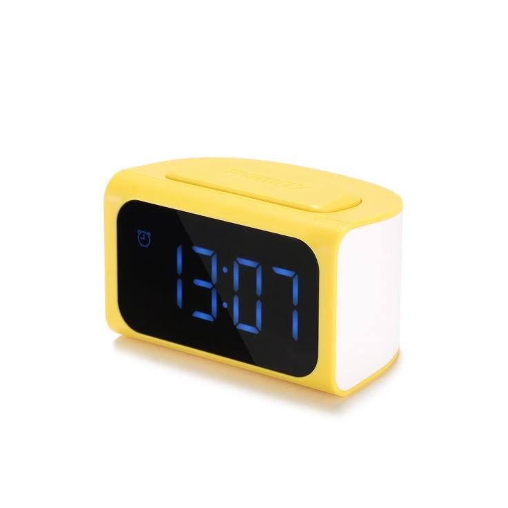 LED Alarm Digital Clock Timer 4USB Mobile Phone Adapter RM-C05