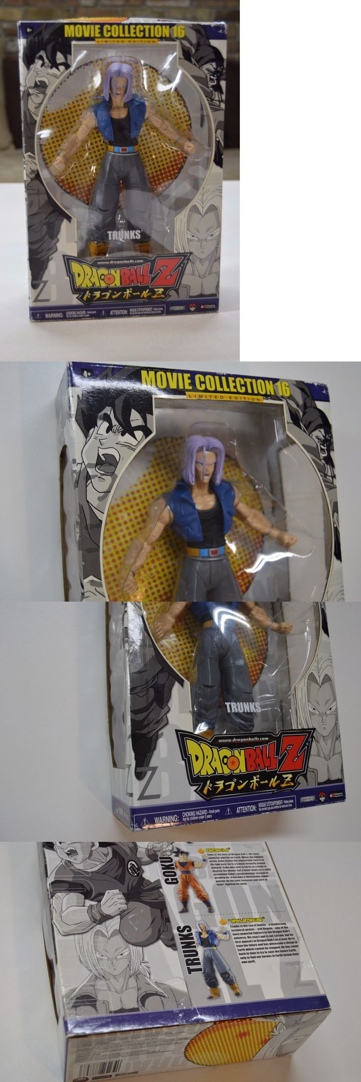 DragonBall Z 7117: Dragon Ball Z Movie Collection 16 Trunks Limited Very Rare! Fast Shipping! -> BUY IT NOW ONLY: $60 on eBay!
